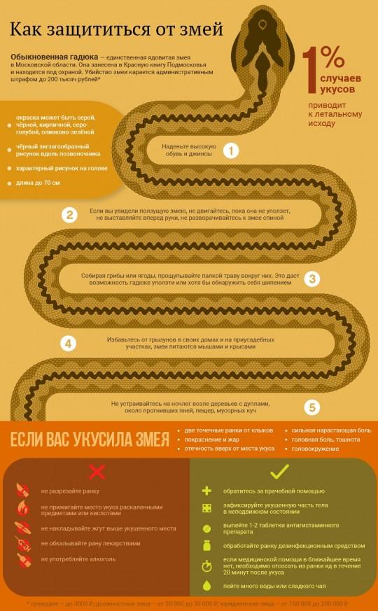 Как защититься от змей.